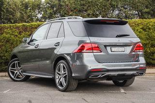 2018 Mercedes-Benz GLE-Class W166 MY808+058 GLE250 d 9G-Tronic 4MATIC Selenite Grey 9 Speed.