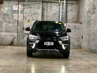 2017 Mitsubishi ASX XC MY17 LS 2WD Black 6 Speed Constant Variable Wagon.
