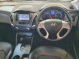 2010 Hyundai ix35 LM Elite AWD Blue 6 Speed Sports Automatic Wagon.