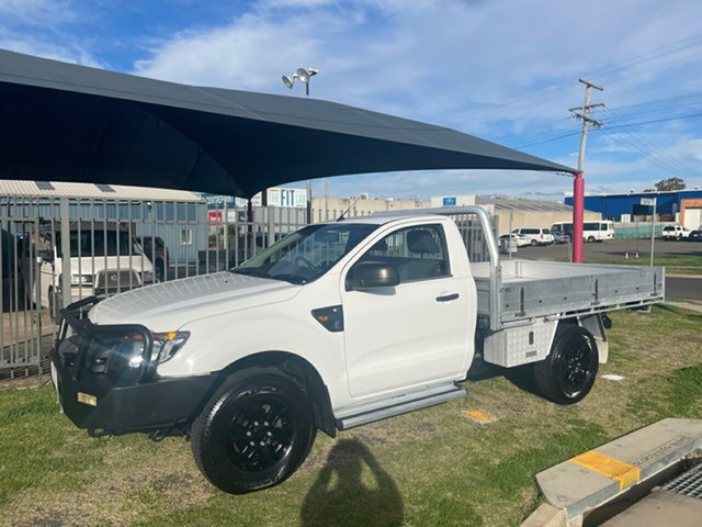 Used Ford Ranger PX XL 3.2 (4x4) Toowoomba, 2012 Ford Ranger PX XL 3.2 (4x4) White 6 Speed Automatic Cab Chassis