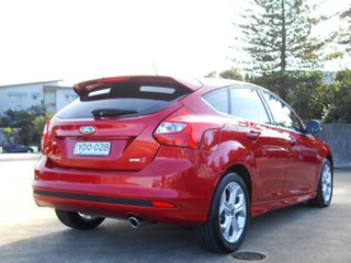 2014 Ford Focus LW MkII MY14 Sport PwrShift Red 6 Speed Sports Automatic Dual Clutch Hatchback.