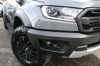 2019 Ford Ranger PX MkIII 2019.00MY Raptor Silver 10 Speed Sports Automatic Double Cab Pick Up.