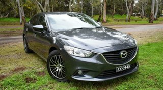2013 Mazda 6 GJ1031 Sport SKYACTIV-Drive Grey 6 Speed Sports Automatic Sedan.