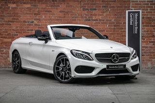2018 Mercedes-Benz C-Class A205 808MY C43 AMG 9G-Tronic 4MATIC Diamond White 9 Speed.