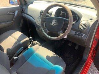 2006 Holden Barina Red 5 Speed Manual Sedan