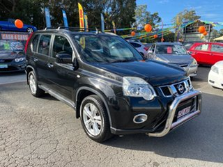2011 Nissan X-Trail T31 MY11 ST (FWD) Black Continuous Variable Wagon.