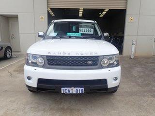 2010 Land Rover Range Rover MY10 Sport 3.0 TDV6 White Diamond 6 Speed Automatic Wagon.