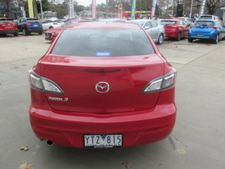2011 Mazda 3 BL10F1 MY10 Neo Activematic Red 5 Speed Sports Automatic Sedan