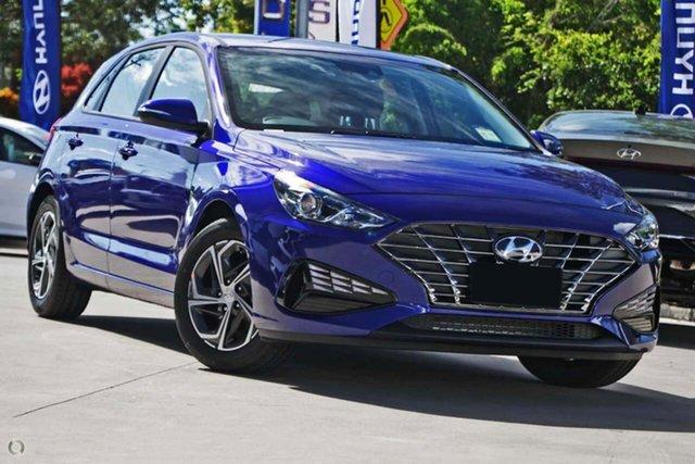 New Hyundai i30 PD.V4 MY21 Oakleigh, 2021 Hyundai i30 PD.V4 MY21 Blue 6 Speed Sports Automatic Hatchback
