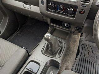 2011 Nissan Navara D40 RX King Cab White 6 Speed Manual Cab Chassis
