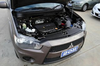 2011 Mitsubishi Outlander ZH MY11 LS Brown 5 Speed Manual Wagon