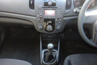 2012 Kia Cerato TD MY12 S Black 6 Speed Manual Hatchback
