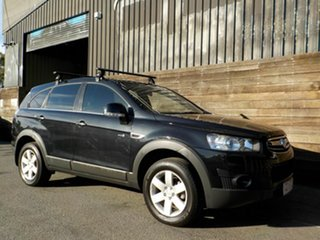 2012 Holden Captiva CG Series II 7 SX Black 6 Speed Sports Automatic Wagon.