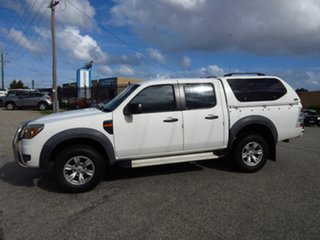 2010 Ford Ranger PK XL (4x2) White 5 Speed Automatic Dual Cab Pick-up