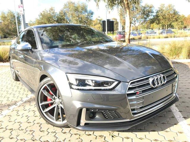 Used Audi S5 F5 MY19 Sportback Tiptronic Quattro Adelaide, 2018 Audi S5 F5 MY19 Sportback Tiptronic Quattro Grey 8 Speed Sports Automatic Hatchback