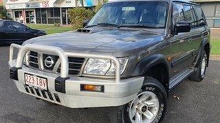2003 Nissan Patrol GU III MY2003 ST Silver 4 Speed Automatic Wagon.