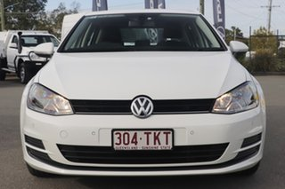 2013 Volkswagen Golf VII 90TSI DSG Comfortline Candy White 7 Speed Sports Automatic Dual Clutch