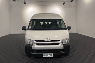 2017 Toyota HiAce KDH223R Commuter High Roof Super LWB White 4 speed Automatic Bus.