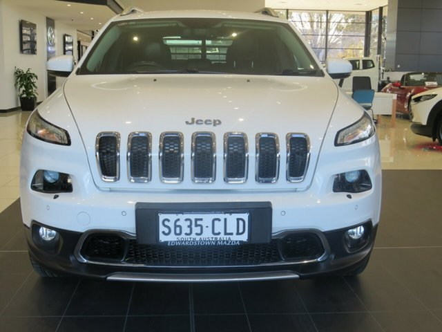 Used Jeep Cherokee KL Limited Edwardstown, KL Limited Wagon 5dr SA 9sp 4x4 3.2i