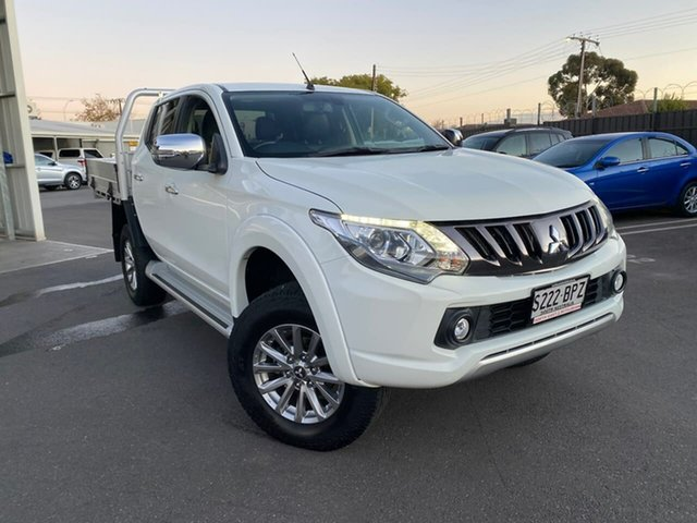Used Mitsubishi Triton MQ MY17 Exceed Double Cab Hillcrest, 2017 Mitsubishi Triton MQ MY17 Exceed Double Cab 5 Speed Sports Automatic Utility