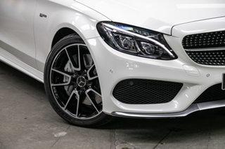 2018 Mercedes-Benz C-Class A205 808MY C43 AMG 9G-Tronic 4MATIC Diamond White 9 Speed