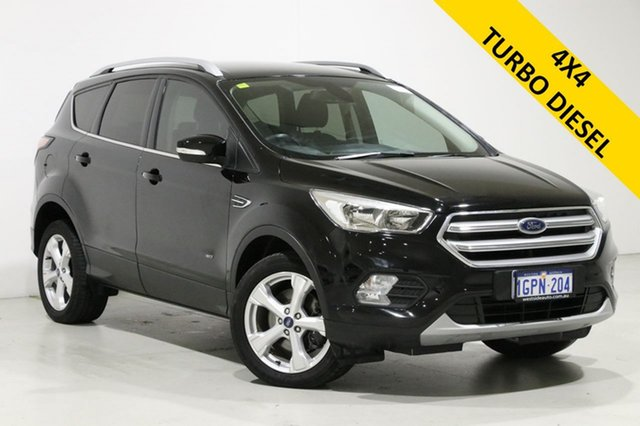 Used Ford Escape ZG Trend (AWD) Bentley, 2017 Ford Escape ZG Trend (AWD) Black 6 Speed Automatic SUV