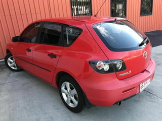 2008 Mazda 3 BK10F2 Neo Red 5 Speed Manual Hatchback.