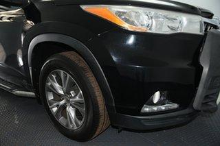 2015 Toyota Kluger GSU55R GXL (4x4) Eclipse Black 6 Speed Automatic Wagon.