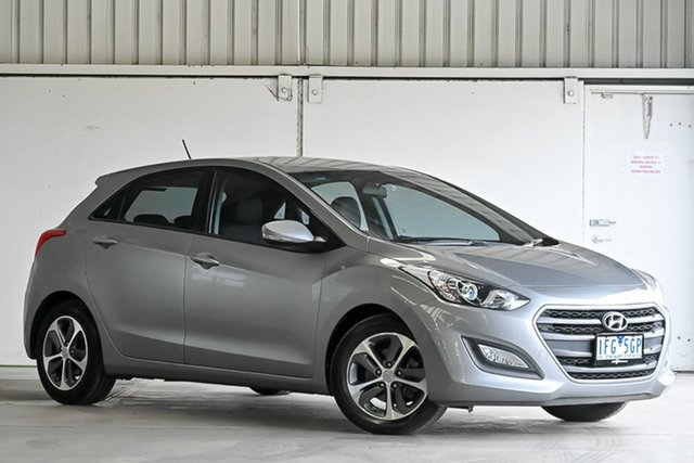 Used Hyundai i30 GD3 Series II MY16 Active X Laverton North, 2015 Hyundai i30 GD3 Series II MY16 Active X Grey 6 Speed Sports Automatic Hatchback