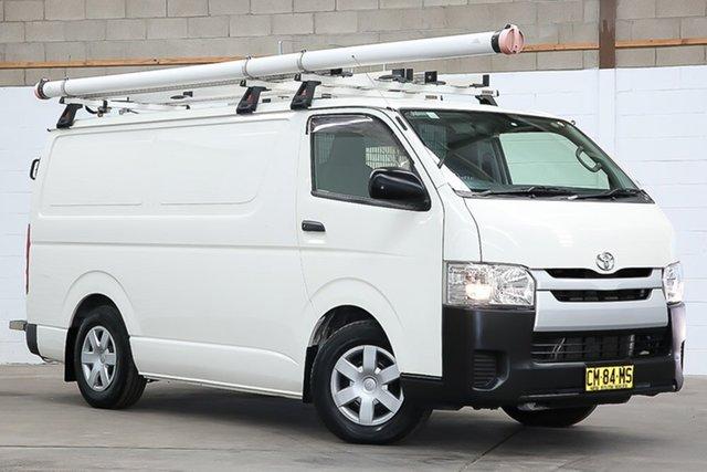 Used Toyota HiAce KDH201R LWB Erina, 2017 Toyota HiAce KDH201R LWB French Vanilla 4 Speed Automatic Van