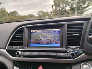 2016 Hyundai Elantra AD MY17 Elite Marina Blue 6 Speed Sports Automatic Sedan