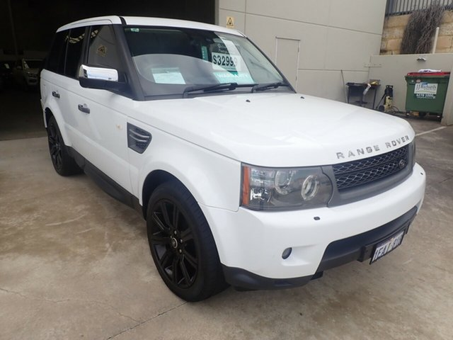 Used Land Rover Range Rover MY10 Sport 3.0 TDV6 Wangara, 2010 Land Rover Range Rover MY10 Sport 3.0 TDV6 White Diamond 6 Speed Automatic Wagon