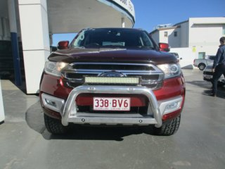 2016 Ford Everest UA MY17 Trend Bronze 6 Speed Automatic SUV