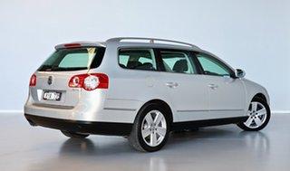 2010 Volkswagen Passat Type 3C MY10.5 125TDI DSG Highline Silver 6 Speed.