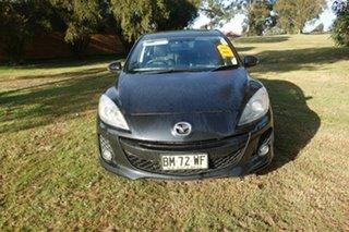 2010 Mazda 3 BL10L1 SP25 Black 6 Speed Manual Sedan.