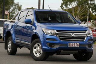 2017 Holden Colorado RG MY17 LS Pickup Crew Cab Blue 6 Speed Sports Automatic Utility.