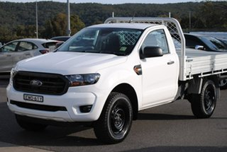 2020 Ford Ranger PX MkIII 2020.75MY XL White 6 Speed Sports Automatic Single Cab Chassis