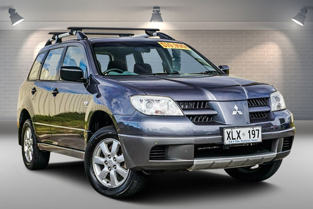 Used Mitsubishi Outlander ZF MY07 Activ Gepps Cross, 2006 Mitsubishi Outlander ZF MY07 Activ Grey 4 Speed Sports Automatic Wagon