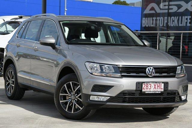 Used Volkswagen Tiguan 5N MY17 132TSI DSG 4MOTION Comfortline Aspley, 2017 Volkswagen Tiguan 5N MY17 132TSI DSG 4MOTION Comfortline Silver 7 Speed