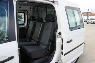 2016 Volkswagen Caddy 2KN MY17 TSI220 Crewvan Maxi DSG White 7 Speed Sports Automatic Dual Clutch.