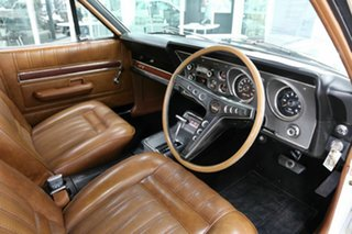 1971 Ford Falcon XY GT White 3 Speed Automatic Sedan.