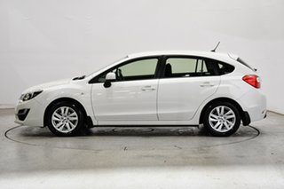 2016 Subaru Impreza G4 MY16 2.0i Lineartronic AWD Crystal Pearl 6 Speed Constant Variable Hatchback.