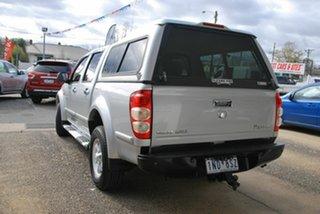 2011 Great Wall V200 K2 (4x2) Silver 6 Speed Manual Dual Cab Utility.