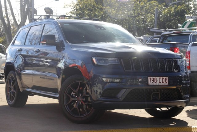 Used Jeep Grand Cherokee WK MY20 S-Limited Toowoomba, 2020 Jeep Grand Cherokee WK MY20 S-Limited Blue 8 Speed Sports Automatic Wagon