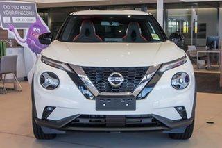 2021 Nissan Juke F16 Ti DCT 2WD Energy Orange Ivory Pearl 7 Speed Sports Automatic Dual Clutch.