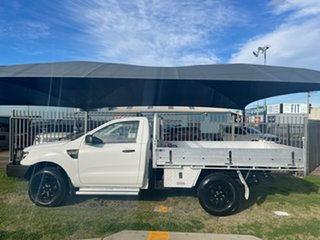 2012 Ford Ranger PX XL 3.2 (4x4) White 6 Speed Automatic Cab Chassis