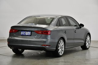 2014 Audi A3 8V MY14 Attraction S Tronic Grey 7 Speed Sports Automatic Dual Clutch Sedan