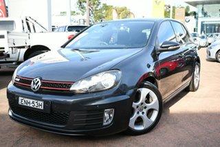 2011 Volkswagen Golf 1K MY11 GTi Grey 6 Speed Direct Shift Hatchback.