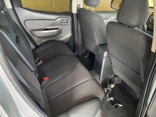 2017 Mitsubishi Triton MQ MY17 GLS (4x4) Silver 6 Speed Manual Dual Cab Utility