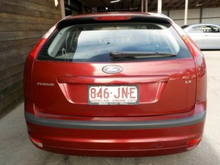 2006 Ford Focus LS LX Red 4 Speed Sports Automatic Hatchback
